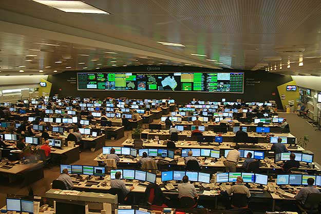 A Large Network Operations Center